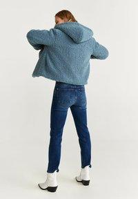 Mango - BRIE - Fleece jacket - blue - 2