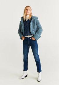 Mango - BRIE - Fleece jacket - blue - 1