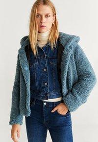 Mango - BRIE - Fleece jacket - blue - 0