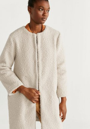 BORA - Short coat - ecru