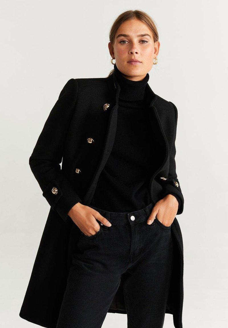 Mango - BOMBONS - Classic coat - black