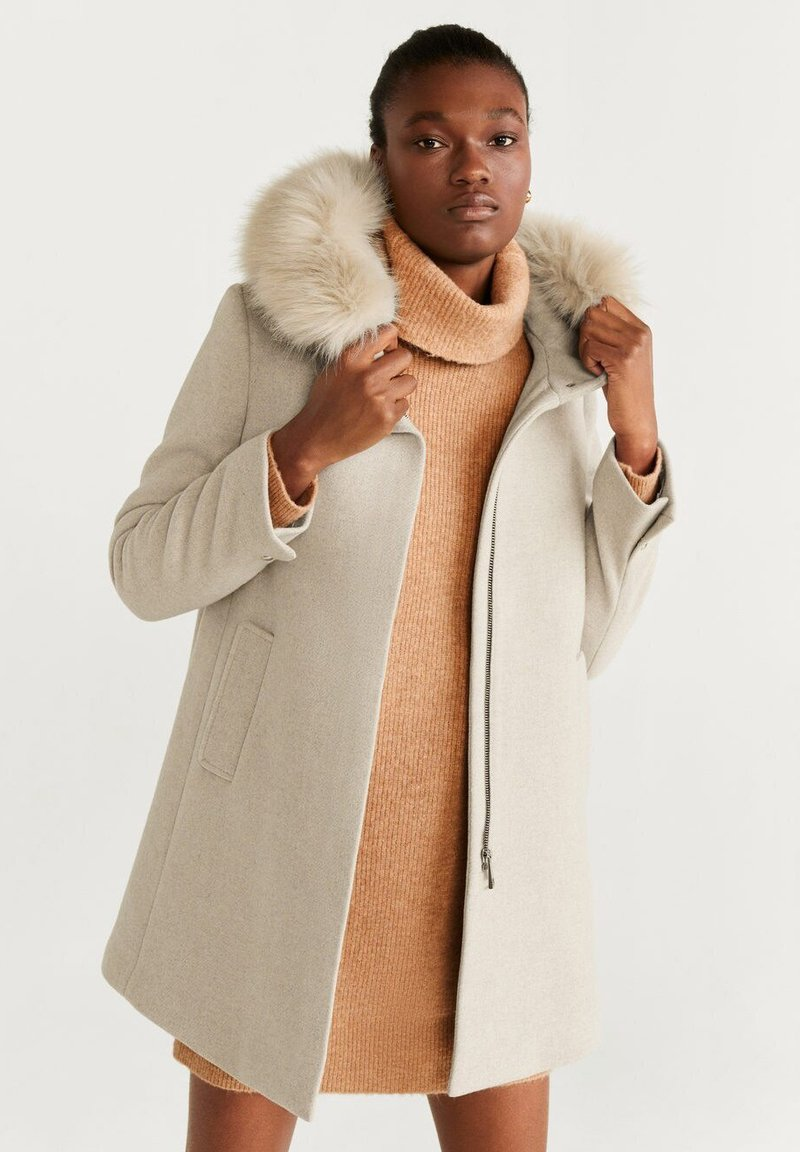 Mango - WORK - Manteau court - beige