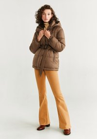 Mango - JOURNAL - Down jacket - brown - 1