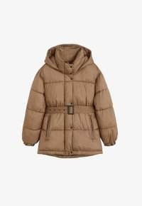 Mango - JOURNAL - Down jacket - brown - 3