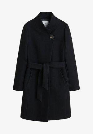 TIERRA - Manteau classique - black