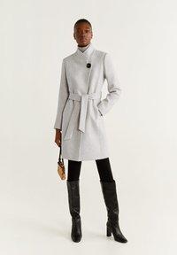 Mango - TIERRA - Classic coat - mottled light grey - 1