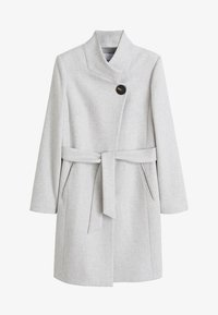 Mango - TIERRA - Classic coat - mottled light grey - 3