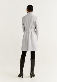 Mango - TIERRA - Classic coat - mottled light grey - 2