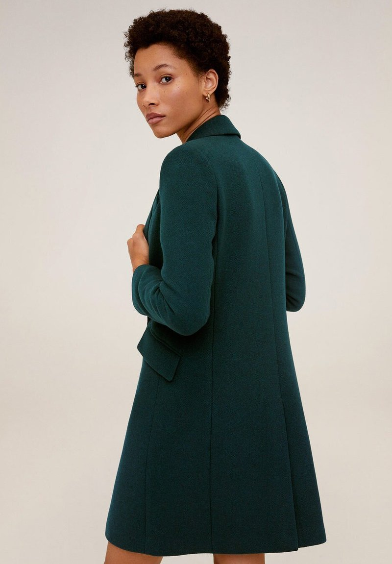 Mango - DALI - Short coat - green