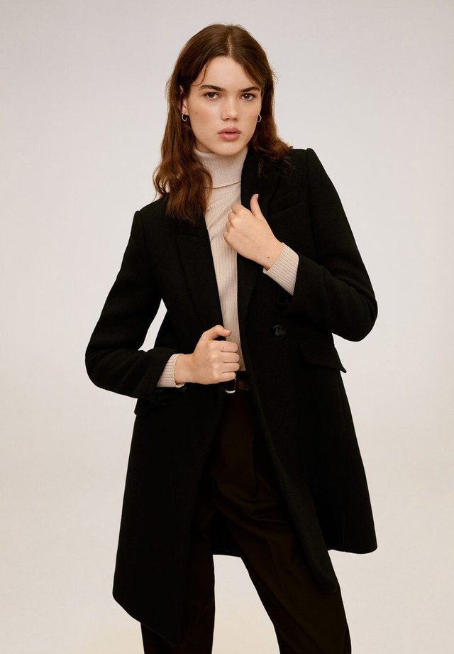 DALI - Short coat - black