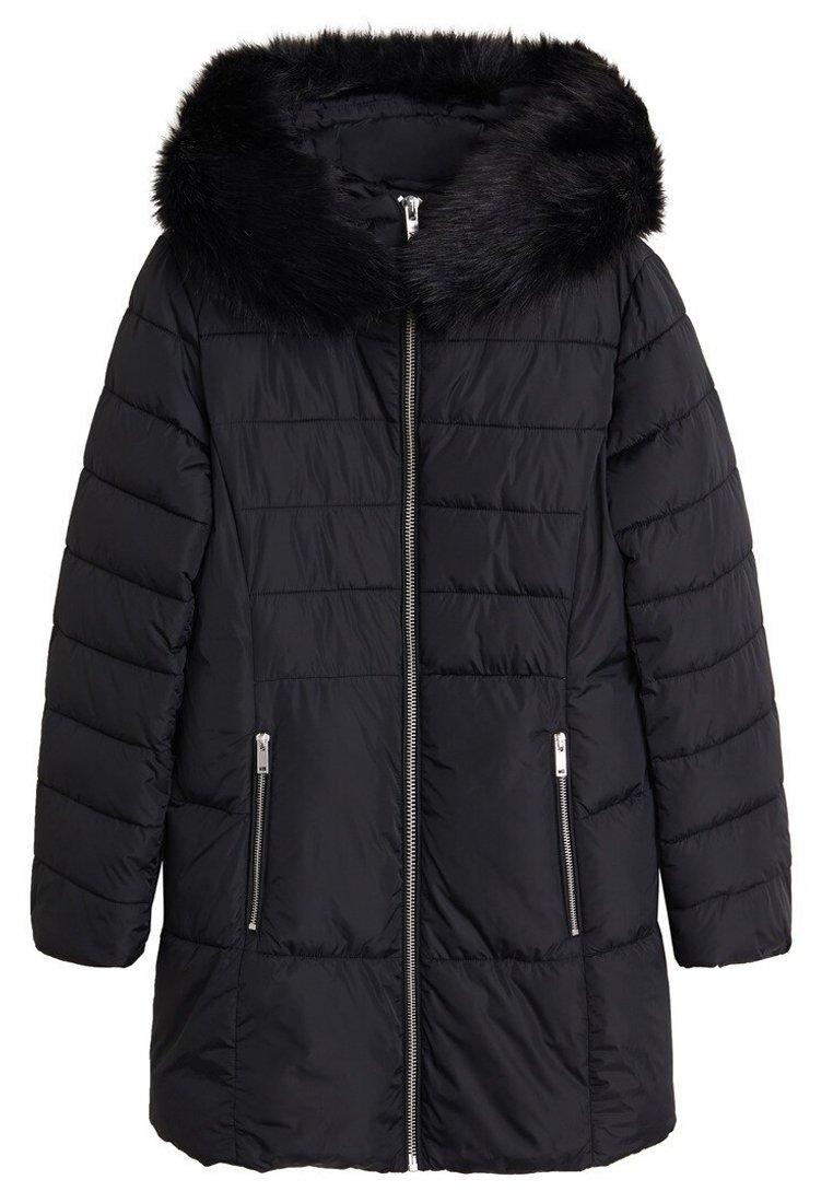 Mango ANIE - Płaszcz zimowy - black