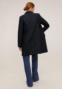 Mango - STREEP - Short coat - dark navy blue - 3