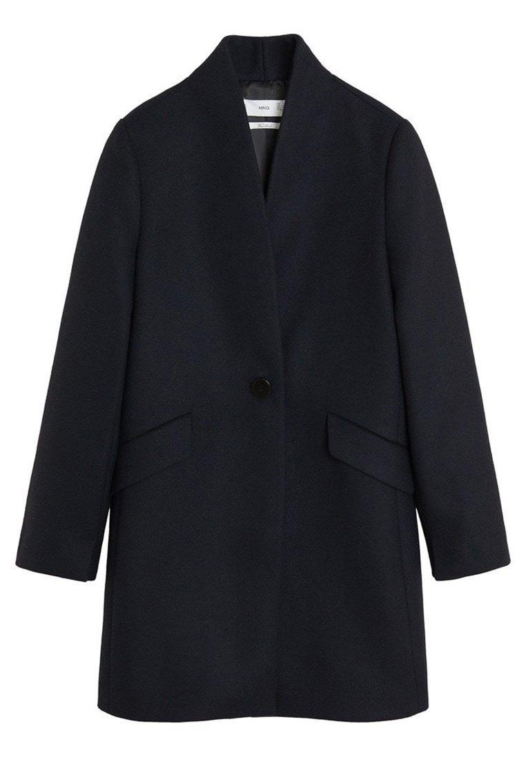 Mango - STREEP - Short coat - dark navy blue