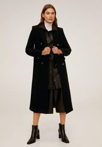 Mango - WATERLOO - Classic coat - black - 1