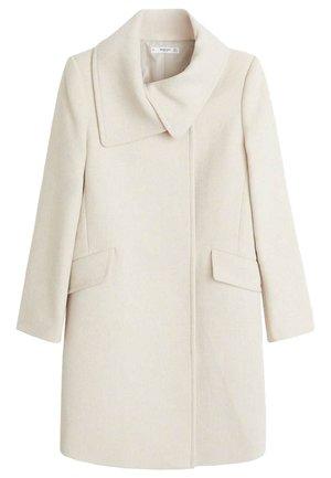 JANE - Classic coat - ecru