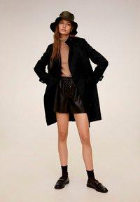 Mango - EIFFEL - Classic coat - black - 1