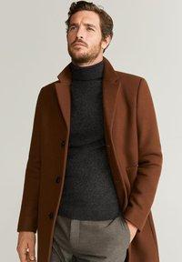 Mango - CHELSEA - Classic coat - brownish orange - 3
