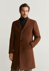 Mango - CHELSEA - Classic coat - brownish orange - 0
