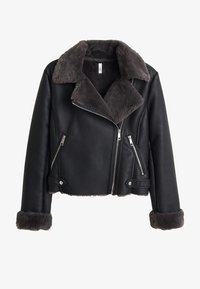 Mango - CADI - Faux leather jacket - schwarz - 3