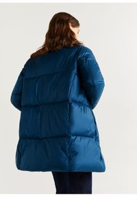 Mango - NEDALONG - Winter coat - petrolblau - 2