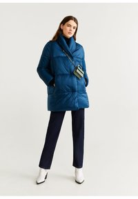 Mango - NEDALONG - Winter coat - petrolblau - 1