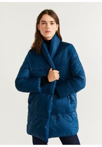 Mango - NEDALONG - Winter coat - petrolblau - 0
