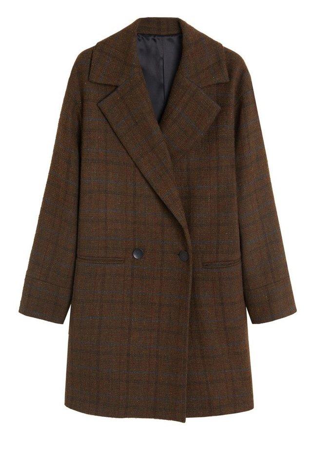 SILVIO - Płaszcz wełniany /Płaszcz klasyczny - braun