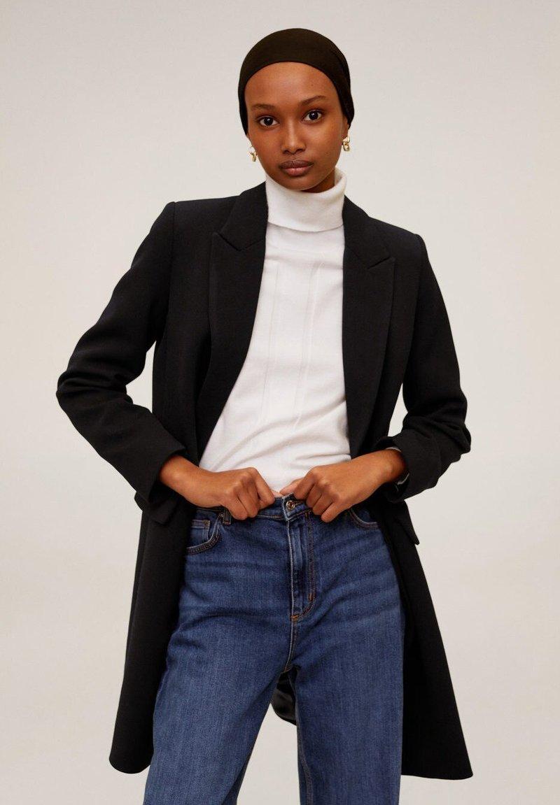 Mango - SUGUS - Short coat - schwarz