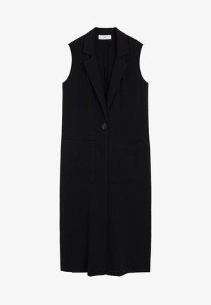 ELODY - Waistcoat - schwarz