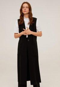 Mango - ELODY - Vest - schwarz - 0