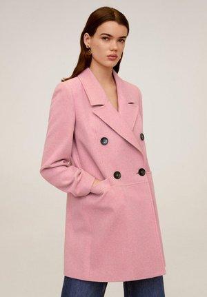 ROCK  - Halflange jas - rosa