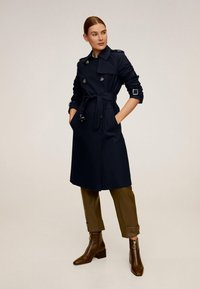 Mango - POLANA - Trenchcoat - dark navy blue - 0