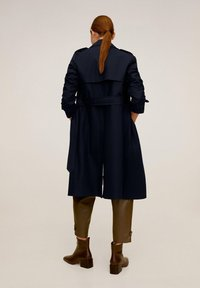 Mango - POLANA - Trenchcoat - dark navy blue - 1