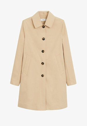 DOUBLE - Trenchcoat - beige