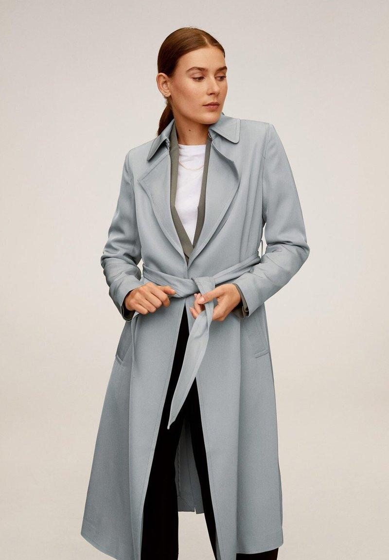 Mango - DINGDONG - Trenchcoat - grey