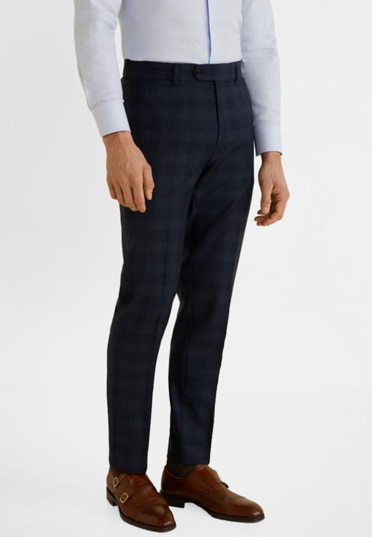 Mango - MILANO - Suit trousers - dark blue