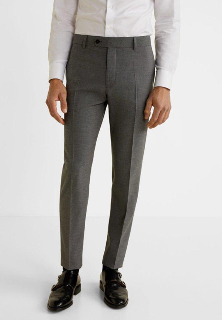 Mango - BRASILIA - Spodnie garniturowe - mink-grey