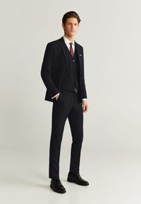 Mango - BRASILIA - Suit waistcoat - black - 1
