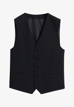 BRASILIA - Suit waistcoat - black