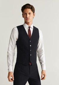 Mango - BRASILIA - Suit waistcoat - black - 0