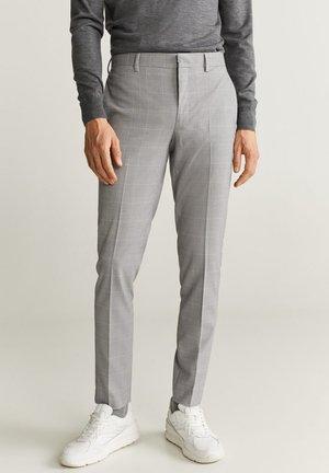 PAULO - Pantalon de costume - grey