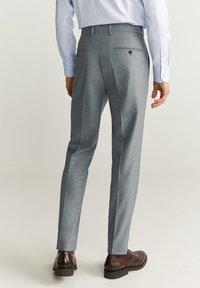 Mango - BRASILIA - Pantaloni eleganti - gray - 2