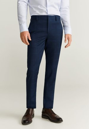 PAULO - Spodnie garniturowe - royal blue