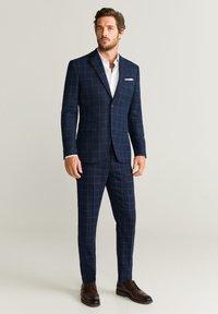 Mango - BRASILIA - Spodnie garniturowe - blue - 1