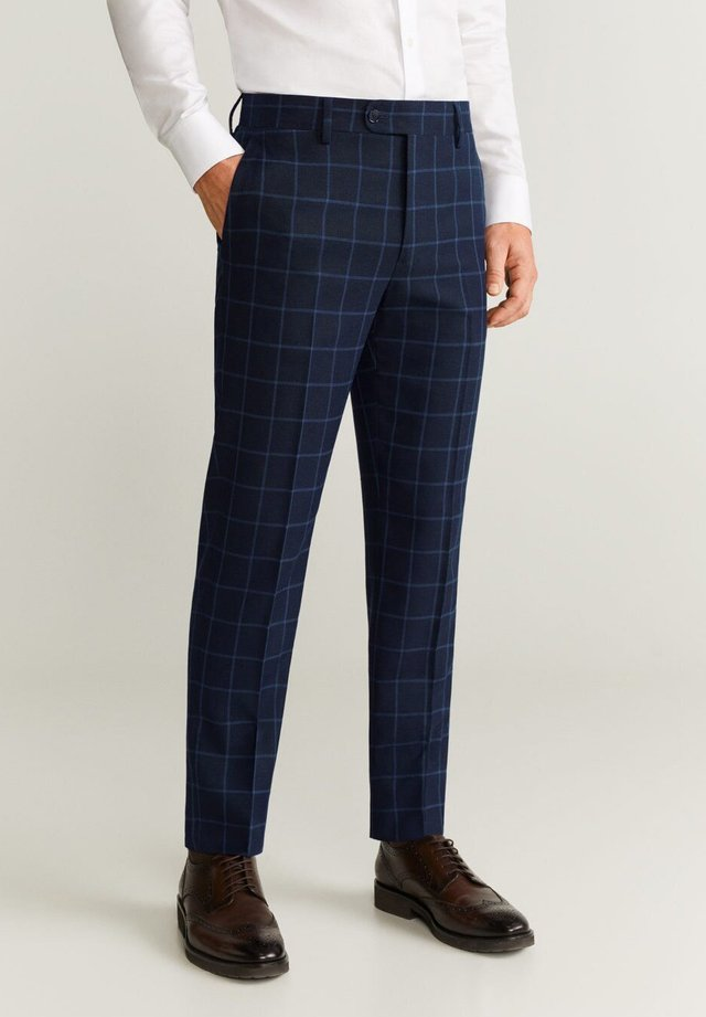 BRASILIA - Spodnie garniturowe - blue