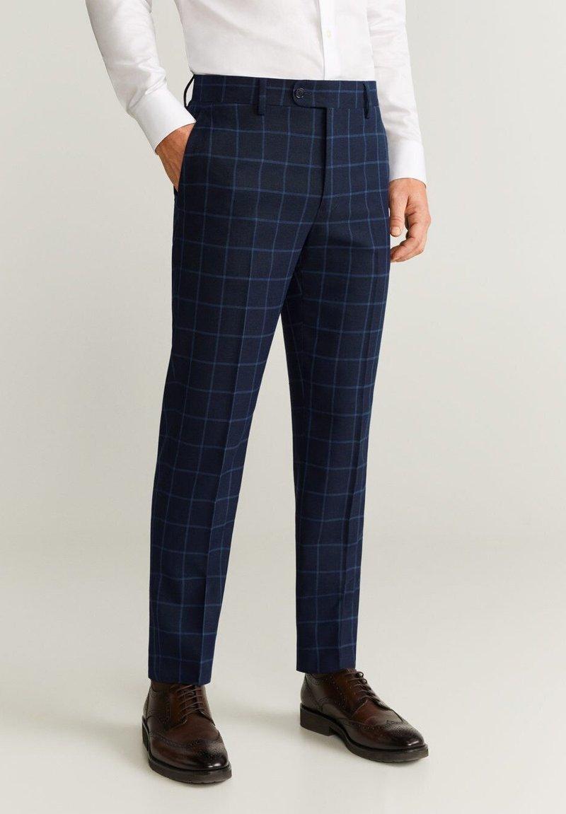 Mango - BRASILIA - Spodnie garniturowe - blue