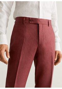 Mango - FLORIDA-I - Pantalon de costume - kersenrood - 5