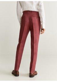 Mango - FLORIDA-I - Pantalon de costume - kersenrood - 3