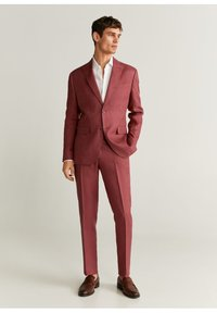 Mango - FLORIDA-I - Pantalon de costume - kersenrood - 2