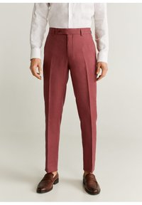 Mango - FLORIDA-I - Pantalon de costume - kersenrood - 0
